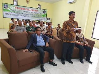 UJI COBA PELATIHAN TAHIR FONDATION KEMNAKER DIMULAI 18/10 DI BLK WONOJATI MALANG