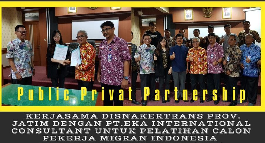 Inovasi Perbaikan Perlindungan Pekerja Migran dari Hulu : Pembangunan BLK PMI Pola Public Private Partnership di Jatim